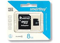 Карта памяти Micro SD 8 Gb 4класс