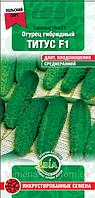 Огурец Титус F1 (5 г.) (Польша) Семена ВИА (в упаковке 20 пакетов)