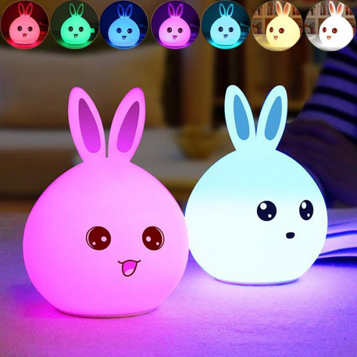 """Лампа - ночник """"Кролик"""""""