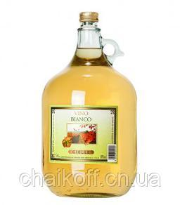 Вино белое сухое GIELLE Vino Bianco 5 л (Италия)