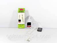 Трансмитер FM MOD. CM 7010, FM-модулятор с зарядкой  для телефона от прикуривателя и от сети