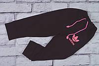 Штаны спортивные (двунитка, вышивка) на рост 98-104 см