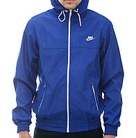 Мужская мастерка Nike синяя