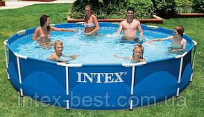 Intex 28200 (56997) - каркасный бассейн Metal Frame 305х76 см, фото 2