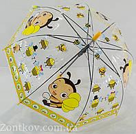 """Детский прозрачный зонтик """"грибком"""" на 3-6 лет от фирмы """"Paolo"""", фото 1"""