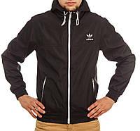 Мужская мастерка Adidas черная
