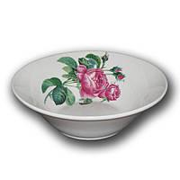 Салатник фарфоровый 250 мл. Роза Кавказа