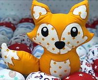 Лисичка подушка. Подарок для ребенка.