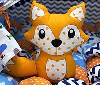 Лисичка подушка. Подарок для ребенка., фото 2