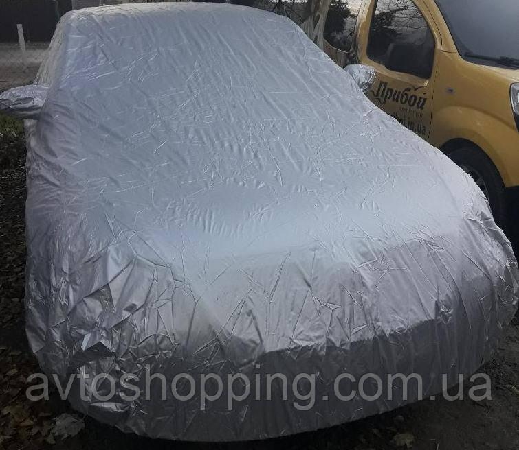 Тент, чехол для автомобиля Седан Vitol CC11106 ХХL Серый 572х203х120 см