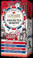 Чай Lovare (Ловаре) Ассортииз 4 смесейна основе черного чая 24 пакетика