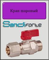 Кран шаровый SD Forte  для металлопластиковых труб 3/4н х20