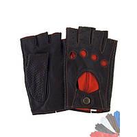Авто перчатка из натуральной кожи без подкладки модель 471_1