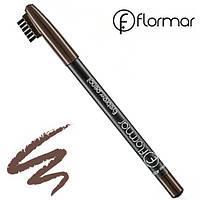Flormar Карандаш для бровей Eyebrow Pencil № 402 (Коричневый)