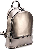 Женский рюкзак 0523 бронзовый Рюкзаки женские кожа, кожаные женские рюкзаки, модные рюкзаки купить дешево