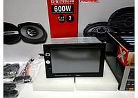 Автомагнитола Pioneer 7026 GT с навигатором GPS 2 дин сенсор