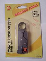 Стриппер TL-332 для зачистки кабеля RG-58, 59, 6