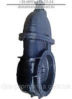 Засувка чавунна 30ч525бр Ду500 Ру2.5 під редуктор