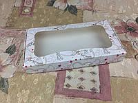 Коробка Ангелочки для пряников, печенья 280*150*35 (окно), фото 1