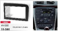Переходная рамка CARAV 11-586 2 DIN (Volvo S80)