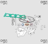 Прокладка впускного коллектора, 477F, Chery Amulet [до 2012г.,1.5], 477F-1008021, Original parts