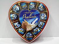 Шоколадные конфеты Pralines с молочным кремом и злаками, 165г.