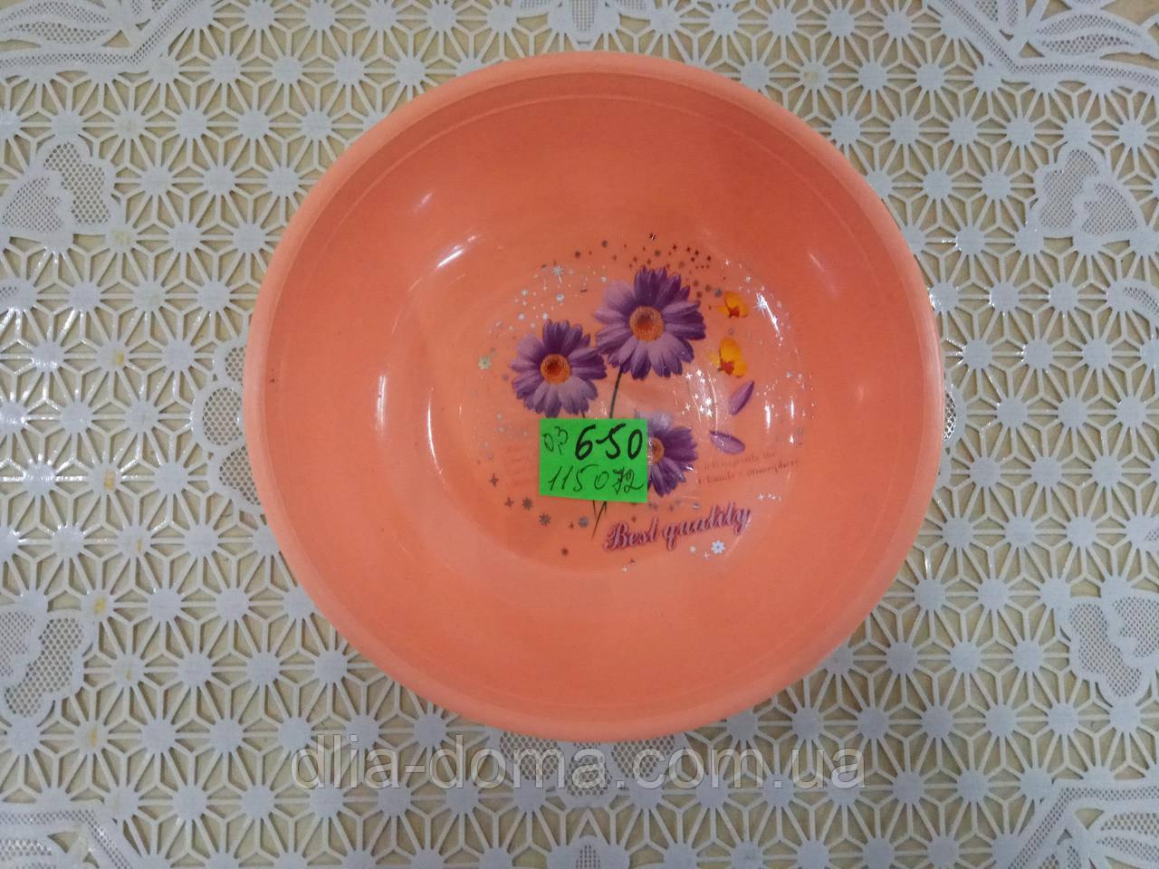 Миска-салатник с рисунком 0,3 л