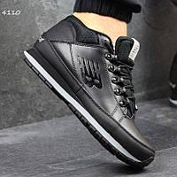 Качественные мужские кроссовки New Balance 754, нью бэланс. Черные. 4110