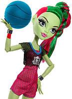 Monster High Венера Макфлайтрап Чемпионат по баскетболу  Casketball Champ Venus Mcflytrap Doll Giftset