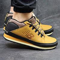 Качественные мужские кроссовки New Balance 754, нью бэланс. Желтые. 4108