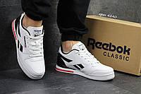 Мужские кроссовки  Reebok  Pro NY  кроссовки -белые- Пресскожа,подошва пена,носок прошит,р-ры: 41-46 Вьетнам