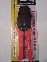 Клещи R'Deer RT-301E для опрессовки неизолированных клемм 0,5-4мм2
