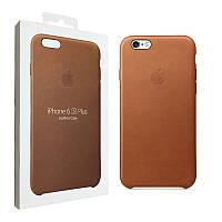 Чехол Apple для iPhone 6/6s Plus Leather Case Brown (MKXС2ZM/A)