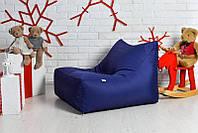 М'яке крісло-диван 60х80х90 см (XL), синього кольору