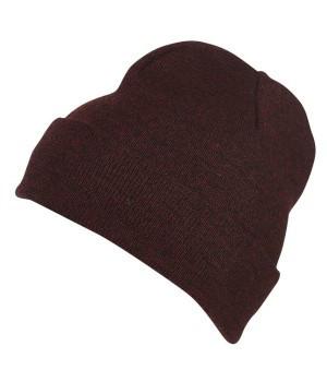 Вязаная шапка Melange Beanie 7122-БР