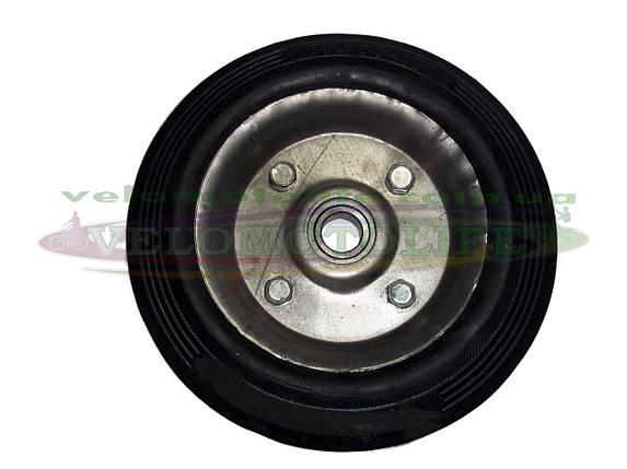 Колесо 180/50-100 (ось Ø20 мм , 2-подшипника ) на тачку кравчучку , фото 2