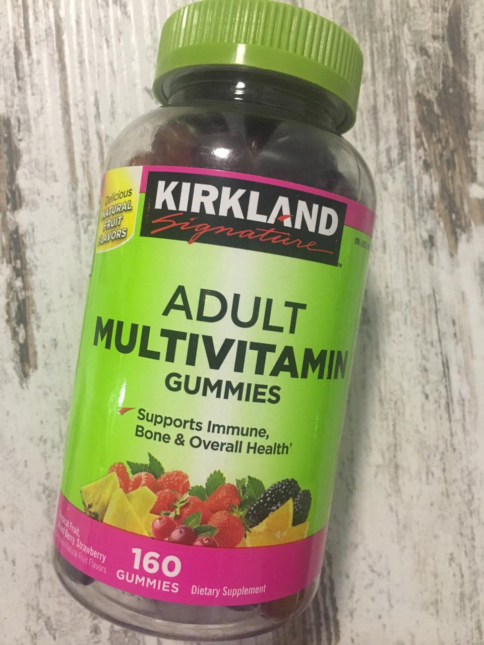 Мультивитамины для взрослых Kirkland Adult multivitamin gummies