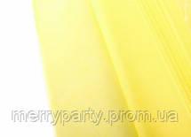 Папиросная бумага тишью желтая 50*75 см 18 г/м²