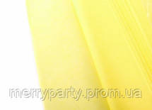 Папиросная бумага тишью желтая 50*75 см