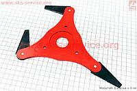 Нож сегментный 3Т Тип №1 для мотокосы, бензотриммера