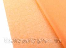 Папиросная бумага тишью оранжевая 50*75 см 18 г/м²
