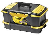 Ящик для инструмента + органайзер CLICK & CONNECT (система хранения) 31x24.7x50.7см STANLEY STST1-71962