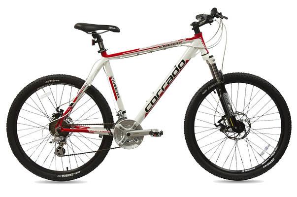 """Горный велосипед CORRADO CARRERA MTB 26"""",19""""  Красный"""