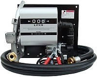 Топливораздаточная колонка заправки дизельного топлива с расходомером WALL TECH 40, 12В, (24) 40 л/мин. ТРК