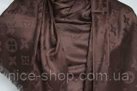 Палантин Louis Vuitton какао, фото 3