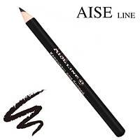 Aise Line Карандаш для бровей № 401 (Чёрный), фото 1