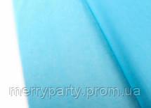 50*75 см 18 г/м² Тишью голубая Папиросная бумага