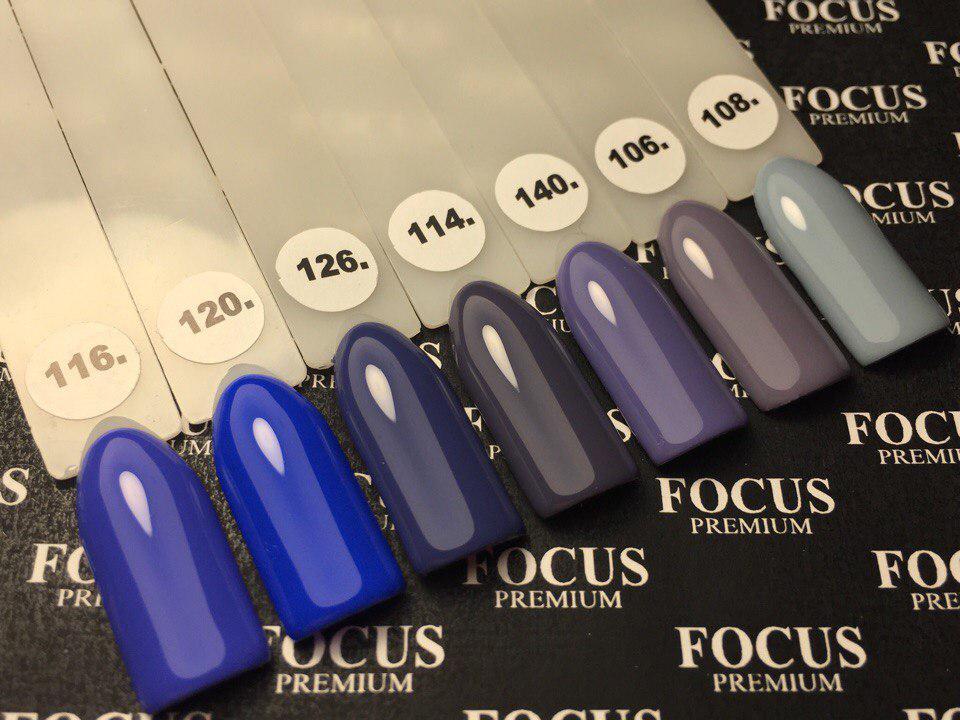 Гель лак Focus Premium от Oxxi  №140 8мл