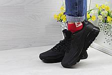 Модные кроссовки Nike Air Max Ultra Moire черные, фото 2
