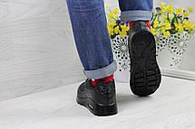 Модные кроссовки Nike Air Max Ultra Moire черные, фото 3